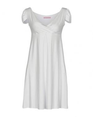 Короткое платье FRANCESCA FERRANTE. Цвет: белый