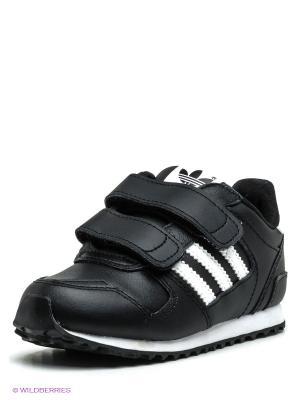 Кроссовки ZX 700 Adidas. Цвет: черный