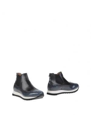 Полусапоги и высокие ботинки CALPIERRE. Цвет: грифельно-синий