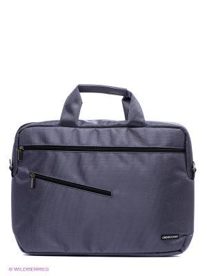 Сумка для ноутбука Cross Case. Цвет: серый