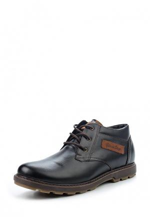 Ботинки Gassa. Цвет: черный