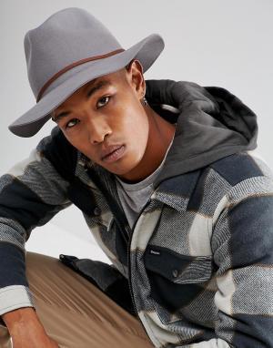 Brixton Шляпа Wesley. Цвет: серый