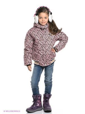 Куртка PELICAN. Цвет: бледно-розовый