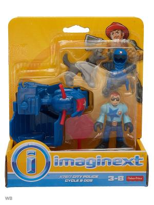 Городские спасатели Mattel. Цвет: оранжевый, белый, красный