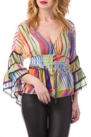 Блуза JOELLE JO'ELLE. Цвет: мультицвет