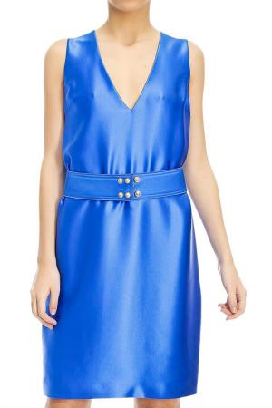 Платье Fausto Puglisi. Цвет: синий