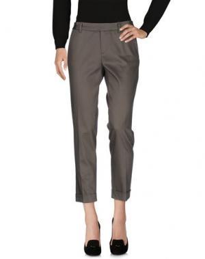 Повседневные брюки METRADAMO. Цвет: зеленый-милитари