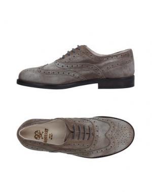 Обувь на шнурках EQUERRY. Цвет: серый