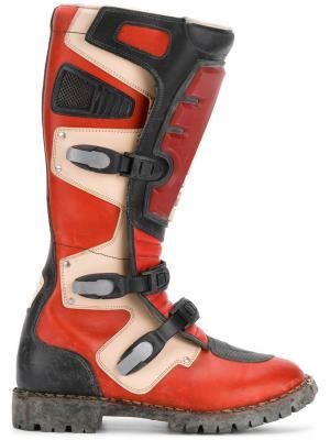 Ботинки Rider Balenciaga. Цвет: красный