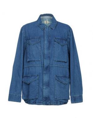 Джинсовая верхняя одежда FAHERTY. Цвет: синий