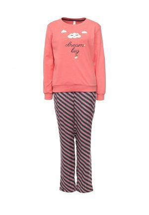 Пижама Relax Mode. Цвет: оранжевый