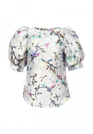 Блуза Tutto Bene. Цвет: серый