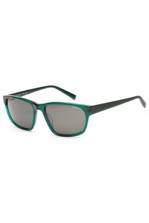 Очки солнцезащитные Esprit. Цвет: зеленый