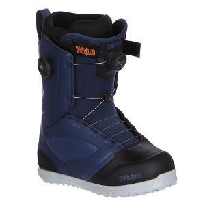 Ботинки для сноуборда  Z Binary Boa Blue Thirty Two. Цвет: синий,черный