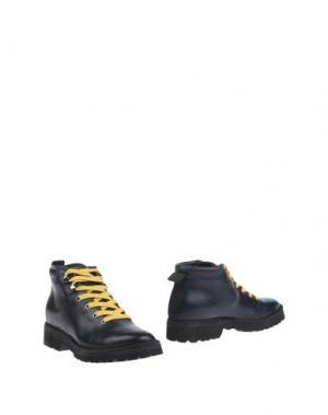 Полусапоги и высокие ботинки PÀNCHIC. Цвет: темно-синий