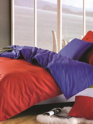 Постельное Белье Arya Cy 12. Цвет: фиолетовый, красный