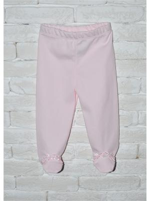 Ползунки ZEBRA KIDS. Цвет: розовый