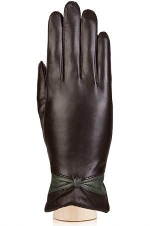 Перчатки Labbra. Цвет: темно-коричневый, оливковый