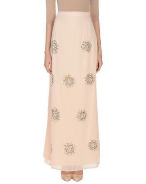 Длинная юбка LA KORE. Цвет: розовый
