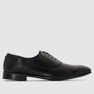 Ботинки-дерби из кожи AZZARO. Цвет: черный