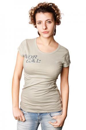 Футболка женская Norcal Roulette Sage Nor Cal. Цвет: серый