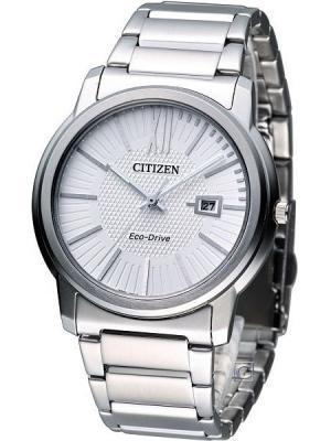 Часы AW1210-58A CITIZEN. Цвет: серебристый
