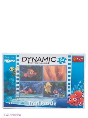 Динамик 3D- В поисках Немо Trefl. Цвет: синий, желтый, оранжевый, розовый, фиолетовый