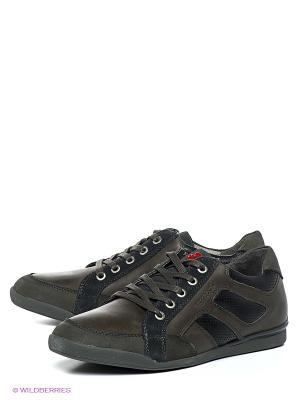 Туфли Ascot. Цвет: темно-серый, черный