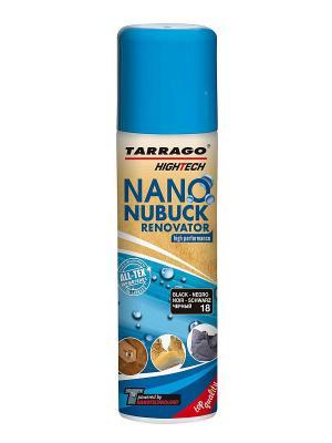 Аэрозоль для замши NANO Nubuck Renovator Tarrago. Цвет: черный
