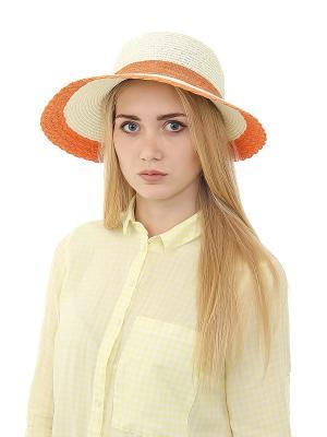 Шляпа Migura. Цвет: бежевый, оранжевый