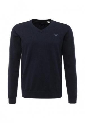 Пуловер Gant. Цвет: синий