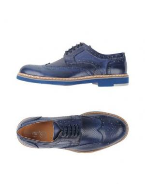 Обувь на шнурках BRUNO VERRI. Цвет: темно-синий