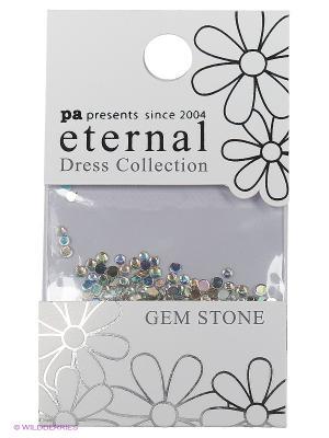 Стразы-камушки для ногтевого дизайна Кристалл 2мм ETERNAL Dress Collection Gem Stone Crystal PA presents since 2004. Цвет: розовый