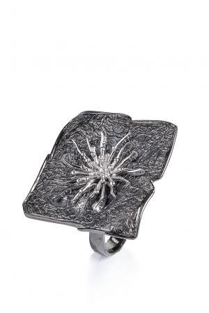 Кольцо 170418 Magie Preziose. Цвет: серый