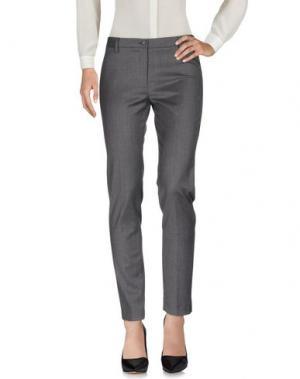 Повседневные брюки ADELE FADO. Цвет: серый