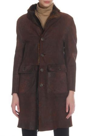 Пальто Pal Zileri. Цвет: коричневый