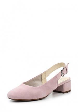 Туфли Vagabond. Цвет: розовый