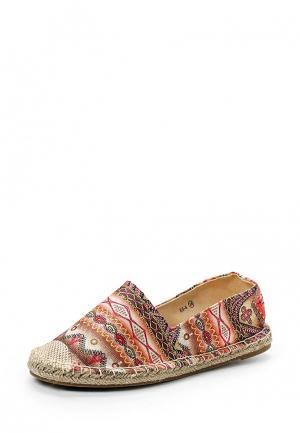 Эспадрильи WS Shoes. Цвет: разноцветный