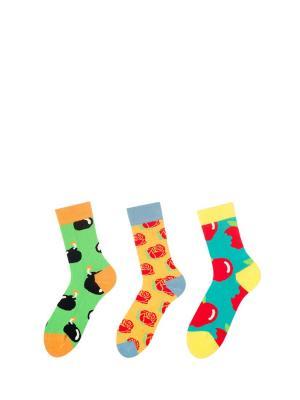 Носки Sammy Icon. Цвет: черный, зеленый, темно-синий