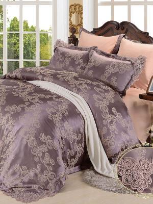 Комплект постельного белья, Donna Mattina (cappucino), евро KAZANOV.A.. Цвет: бежевый, серый