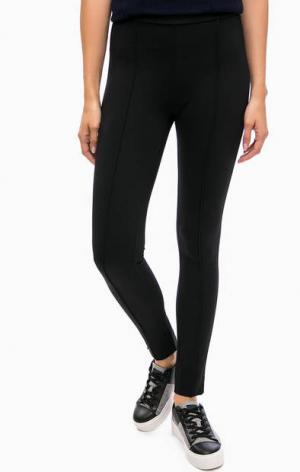 Базовые брюки из вискозы Kocca. Цвет: черный