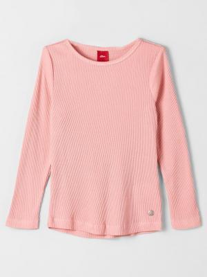 Лонгслив S.OLIVER. Цвет: розовый