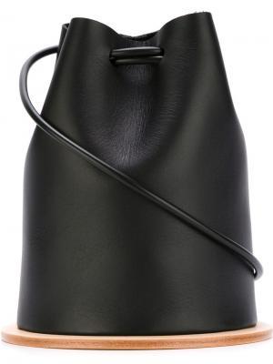 Маленькая сумка через плечо Building Block. Цвет: чёрный