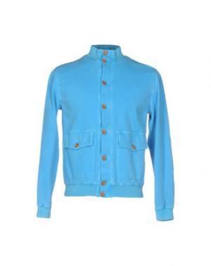 Куртка FRADI. Цвет: лазурный