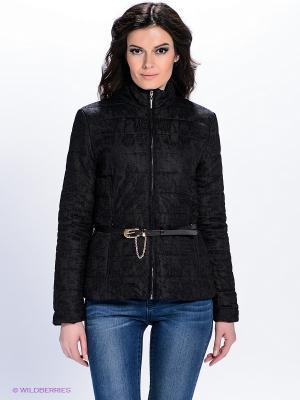 Куртка QUIOSQUE. Цвет: черный