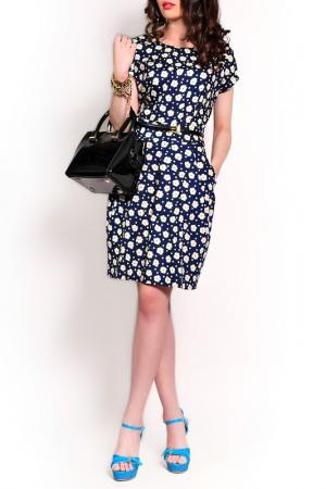 Платье MONT PELLIER. Цвет: темно-синий, цветок