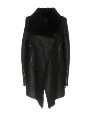 Пальто VINTAGE DE LUXE. Цвет: черный