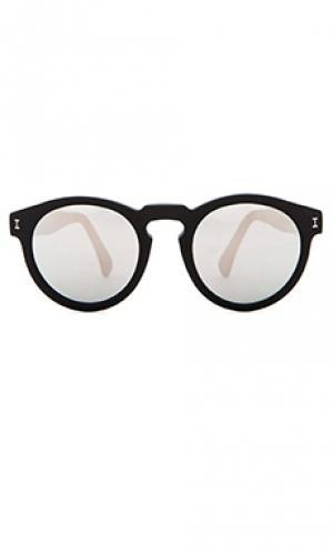 Солнцезащитные очки leonard illesteva. Цвет: черный
