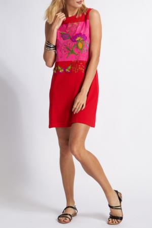 Платье MAMATAYOE. Цвет: красный