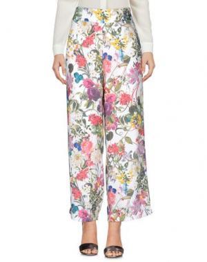 Повседневные брюки MICHELA MII. Цвет: зеленый